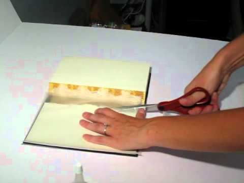 How to Reattach a Book Cover