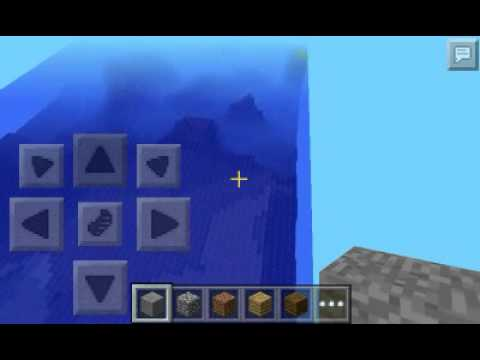 Minecraft pe seed survival island (0.8.1)