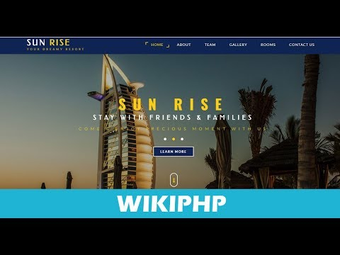 Hotel management project in PHP with MySQL source code free download