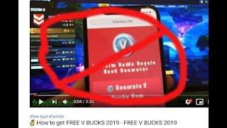 Free V Bucks No Human Verification 2019