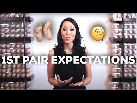3 Things To Expect From Your First Pair of Pointe Shoes