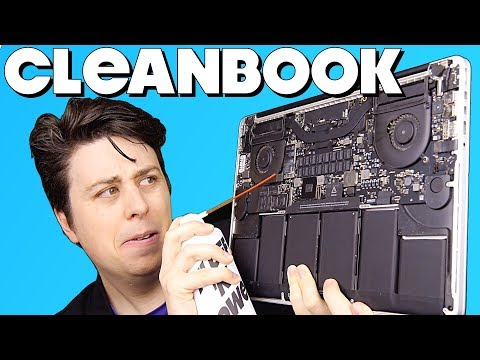How To Clean Inside Your MacBook Pro