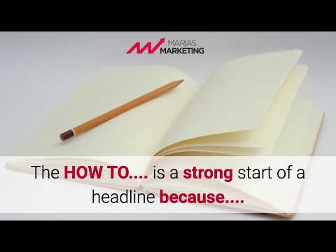 5 Simple Steps to Write a Catchy Headlines