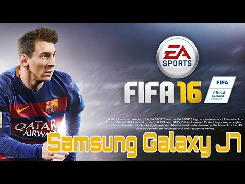 FIFA 16 Football On Samsung Galaxy J7
