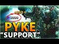 PYKE THE NEW BROKEN ASSASSIN Support New Champion Pyke Gameplay League Of Legends