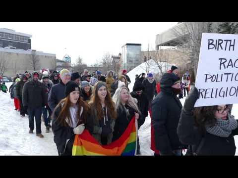 Winnipeg Walk for Human Rights - 2017-02-05