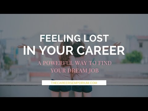 FEELING LOST IN YOUR CAREER  | A POWERFUL WAY TO FIND YOUR DREAM JOB | RUBY LEE