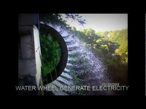 DON CARLOS, BUKIDNON, WATER WHEEL GENERATE ELECTRICITY