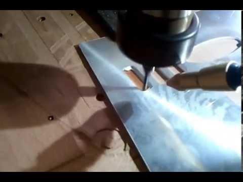 Diy cnc milling 2mm aluminium sheet