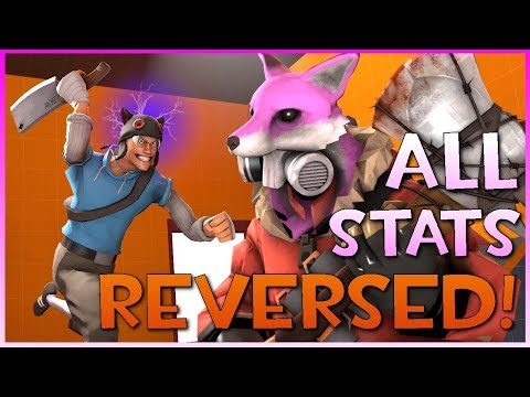 TF2: x-1 All Weapon Stats REVERSED! (feat. Darty)