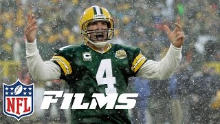 #4 Brett Favre   Top 10 Mic'd Up Guys of All Time   NFL Films