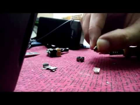 Free neodymium magnets from DVD lens