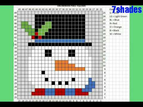 graph knitting pattern |animals graph chart | cartoon graph chart