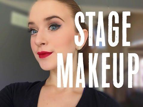 Stage Makeup 101 | Audrey Ann {talk through+mostly drugstore!!}