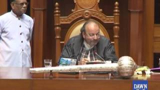 Gossips Of Obesity And Beauty Parlor in Sindh Assembly - Watch interesting clip