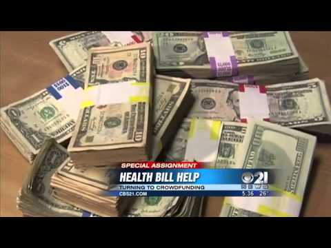 Crowdfunding becoming popular way to help pay for medical bills