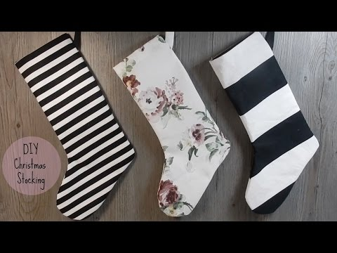 DIY: Easy Christmas Stocking Sewing Project