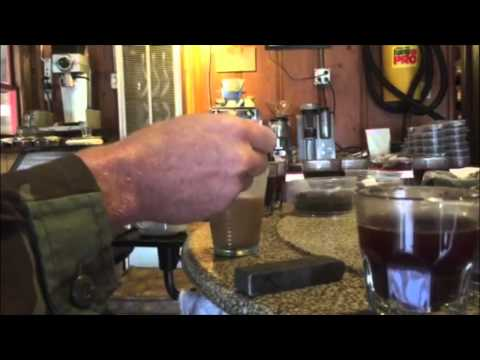 Blind cupping Butterfinger Frappacino