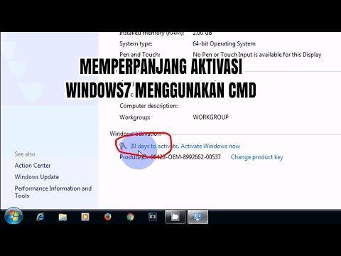 Aktivasi Windows 7 Dengan CMD