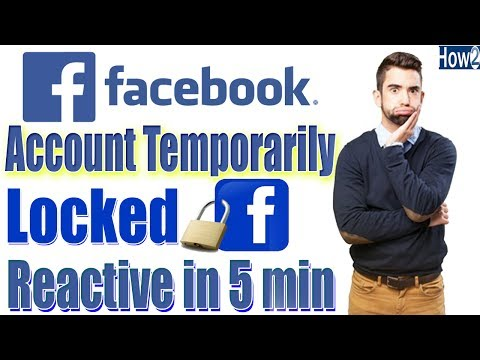How to Unlock Facebook Account temporarily Locked urdu hindi tutorial