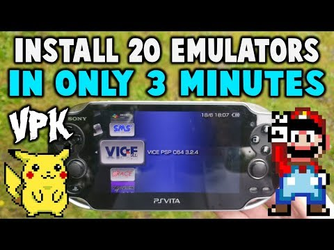 This VPK Installs 20 Emulators In 3 Minutes! - PakVim net HD