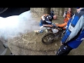 KTM EXC250f Smoke From Exhaust Blow Up