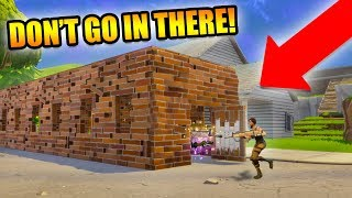 THE TUNNEL OF DEATH! *THIS THING IS A LOOT MACHINE!* | Fortnite Battle Royale