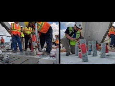 Florida Bridge Collapse FIU Concrete design cause of failure? video #12