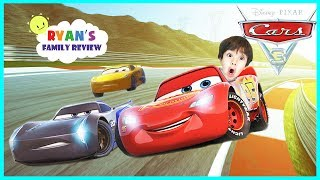 Cars 3 Driven to Win Gameplay Racing Game Lightning McQueen! Let's Play with Ryan's Family Review