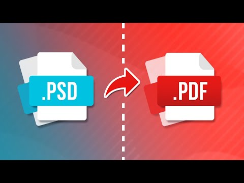 How to Save as PDF in Photoshop