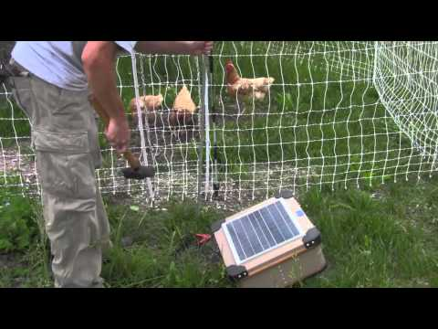 How to Install an Electric Poultry Fence Video