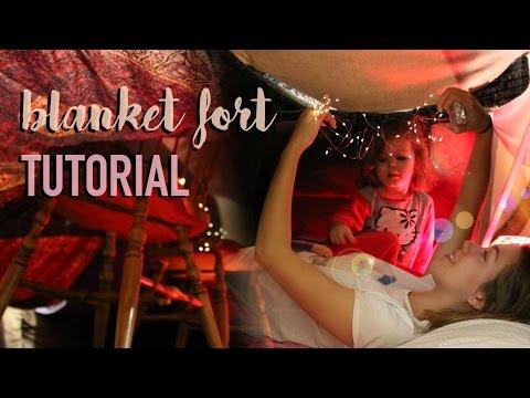 How to build a Blanket Fort | Natasha Rose