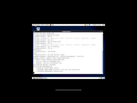 Intro to the Terminal CentOS 6.5
