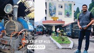 Darjeeling Himalayan Railway (Toy Train), INB Trip EP # 15