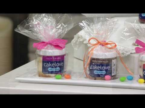 CAKELOVE Set of 12 Single Serve Cakes in a Jar Assortment on QVC