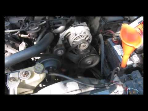 2000 Ford Mustang V6 3.8L Radiator Flush and Thermostat Replacement