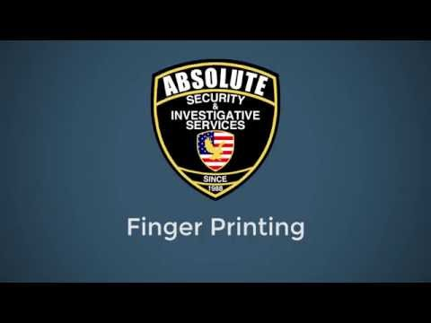 Finger Printing Service Maryland
