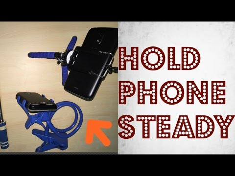 Top 3 beginner gadgets to hold phone steady while recording