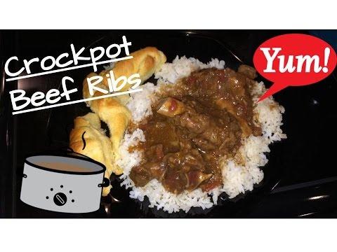 How to Make: Crockpot Beef Ribs