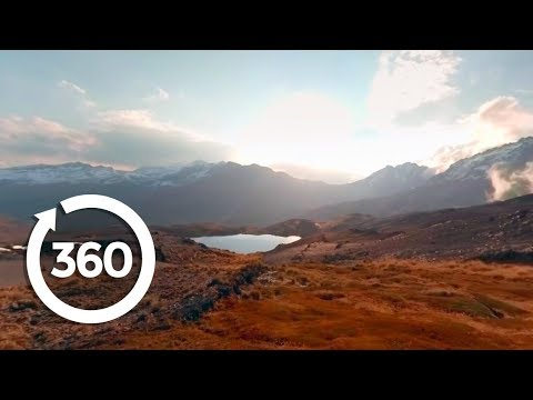 Mountaintop Sunset | La Paz, Bolivia 360 VR Video | Discovery TRVLR