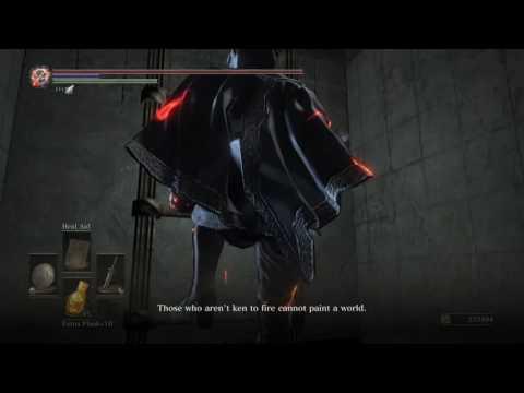 Dark Souls 3 - Uncommon painter dialog?