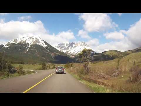 A Drive to Waterton National Park
