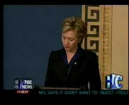Hillary Clinton's Opposing Statements on Iraq War