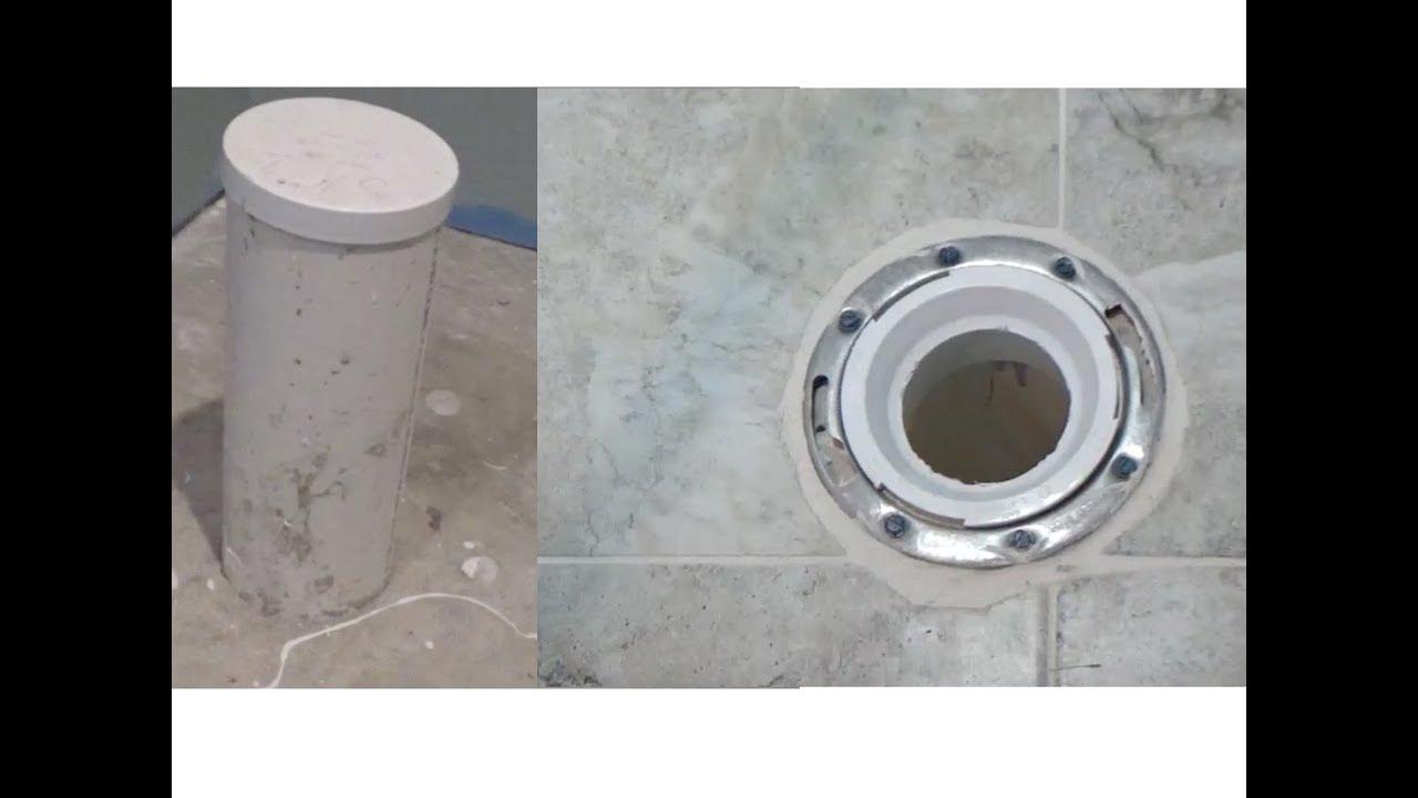 Toilet Flange Installation on New Construction - Closet Flange