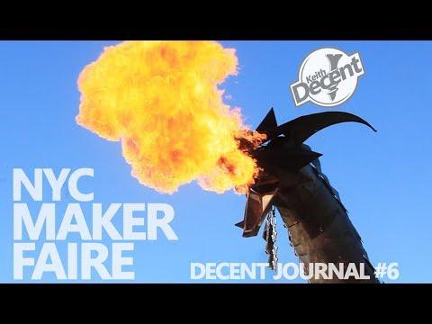 NYC MAKER FAIRE 2017 - Decent Journal #6