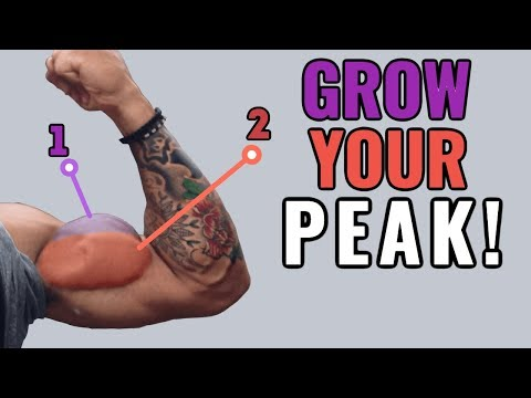 How to Grow Your Biceps Peak (4 Science-Based Tips)