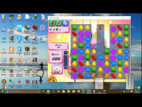 HOW TO HACK CANDY CRUSH SAGA IN PC WINDOWS 10 AND 8.1