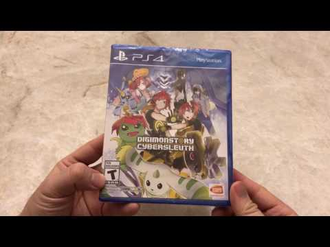 Digimonstory Cybersleuth PS4 Unboxing