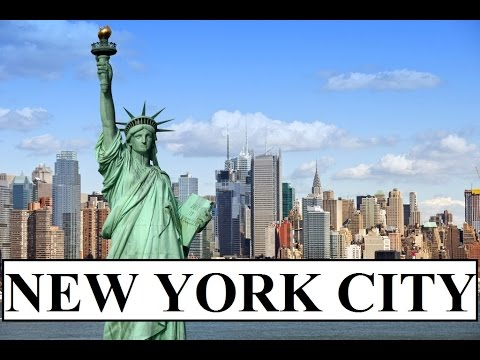 New York City (The Statue of Liberty,Wall Street,Time Square) Part 1