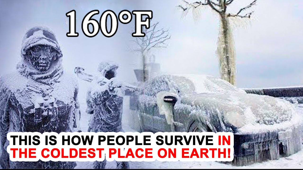 This Is How People Survive In The Coldest Place On Earth!